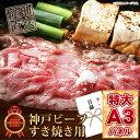 景品 目録 肉 【神戸ビーフ すき焼き用】 A3パネル付き ...
