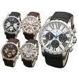 【送料無料】サルバトーレマーラ メンズ腕時計 SM15103 SSWH SSBK PGWH PGBK PGSV 全5色 クロノグラフ【Salvatore Marra】 [受注発注の為 キャンセル・変更・同梱不可]