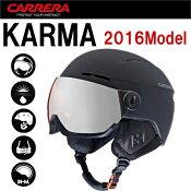 カレラカルマウインタースポーツ用バイザー付きヘルメット超軽量高性能ベンチレーション