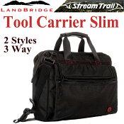 【STREAMTRAIL】【LANDBRIDGE】ランドブリッジツールキャリアースリムBK3wayバッグ
