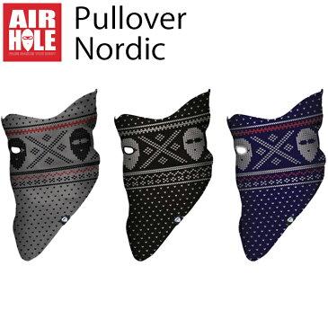 AIRHOLE エアホールフェイスマスク PULLOVER ノルディック 2サイズ あす楽対応