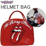 ダムトラックス ローリングストーンズ ヘルメットバッグ 2WAY ショルダーバッグ エナメルバッグ 条件付き送料無料 あす楽対応
