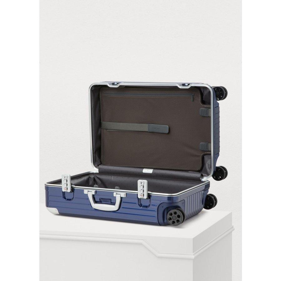 リモワ ハイブリッド 4輪 37L キャビン 機内持込可 ブルー つや有 883.53.60.4 RIMOWA Hybrid Cabin スーツケース リモア
