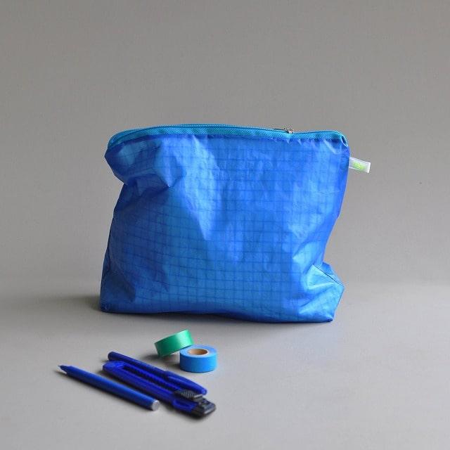 メイク道具・ケアグッズ, ボトル・ケース・携帯小物 kolor Magic Zipper Pouch blue L