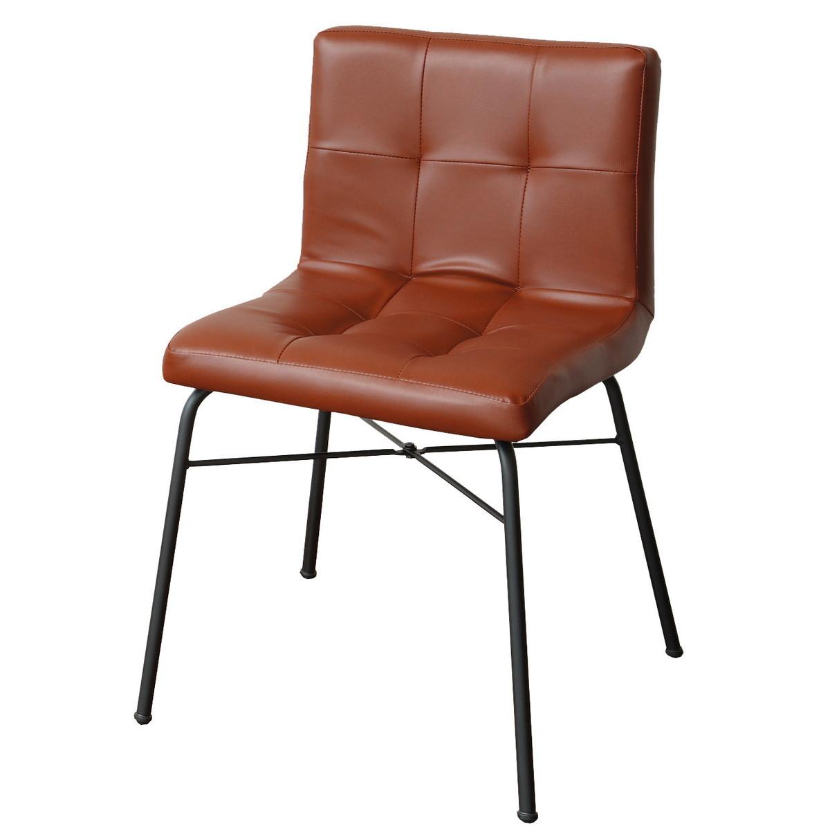 アンセム ダイニングチェア 椅子 ブラウン
