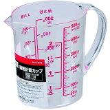 【大きくて見やすい目盛表示】 耐熱計量カップ 熱湯・電子レンジOK 500ml 日本製