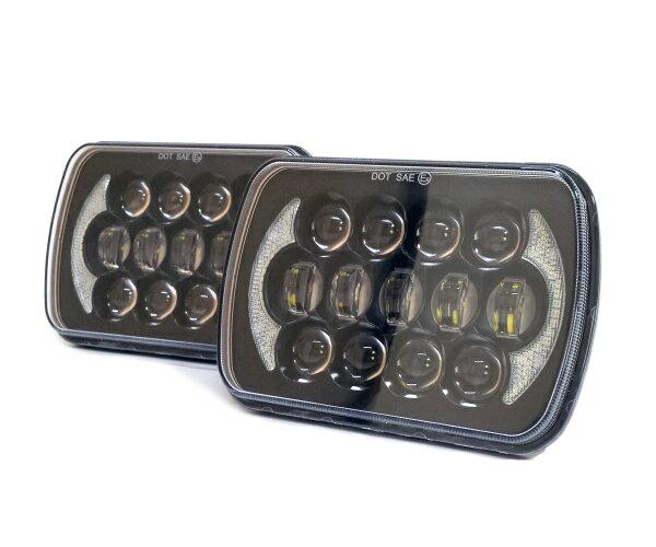 ライト・ランプ, ヘッドライト 57 LED S13 SW20 AE86 KP61 JZA70 B310 FC3S 180SX