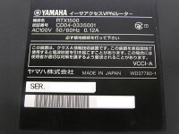 □#YAMAHAイーサアクセスVPNルーターRTX1500【中古】