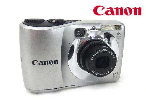 □■α動作保証付き Canon/キャノン デジタルカメラ PowerShot A1200 1210万画素/単三電池2本で使...