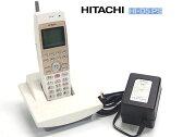 □■α HITACHI/日立 事業所用デジタルコードレス電話システム HI-D5 PS 充電器/AC付 '10年製 【中古】