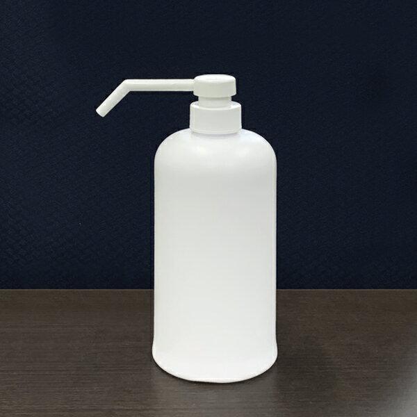 プラスチック容器シャワーポンプ霧ポンプ容器800cc乳白色KPY800PEW-S