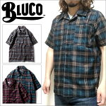 BLUCOWORKGARMENT/ブルコWORKSHIRTSS/S-P.Check/ワークシャツ・3color
