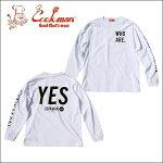 COOKMAN/クックマンLongsleeveT-shirts「YES」/ロングスリーブTシャツ・WHITE