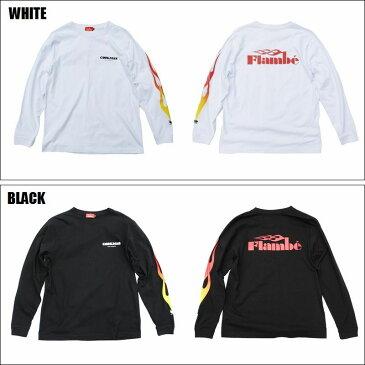 COOKMAN/クックマン Long sleeve T-shirts「FLAMBE」/ロングスリーブTシャツ・2color