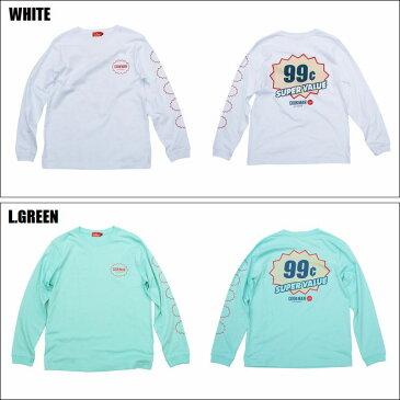 COOKMAN/クックマン Long sleeve T-shirts「SUPER VALUE」/ロングスリーブTシャツ・2color