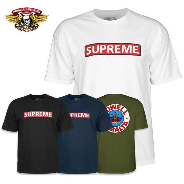 トップス, Tシャツ・カットソー Powell-Peralta SUPREME SS TEET4color