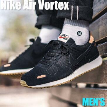 【ポイント2倍】Nike Air Vortex Leather ナイキ エア ボルテックス レザー 918206-004 メンズ スニーカー ランニングシューズ