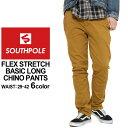 チノパン スリム ストレッチ メンズ|大きいサイズ USAモデル ブランド サウスポール SOUTH POLE