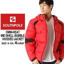 サウスポール 中綿ジャケット 迷彩 メンズ|大きいサイズ USAモデル ブランド SOUTH POLE|防寒 撥水 アウター ブルゾン XL XXL LL 2L 3L (clearance)