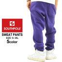サウスポール ジョガーパンツ スウェット メンズ|大きいサイズ USAモデル ブランド SOUTH POLE|スウェットパンツ 裏起毛