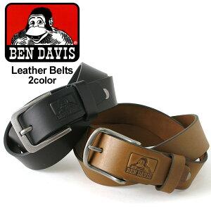 【送料無料】 BEN DAVIS ベンデイビス ベルト メンズ 本革 [ベンデイビス BEN DAVIS ベルト メンズ 本革 ブランド カジュアル レザーベルト ベルト メンズ 大きいサイズ]【COP】