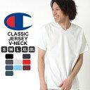 チャンピオン tシャツ vネック 無地 tシャツ 半袖 大きいサイズ メンズ tシャツ アメカジ tシャツ メンズ 半袖 ブランド S/M/L/LL/2L/3L