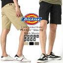 Dickies ディッキーズ ハーフパンツ メンズ スリム 大きいサイズ [DICKIES ディッキーズ ハーフパンツ 13 ワークショーツ ショートパンツ 短パン 膝上 アメカジ ブランド ディッキーズ 作業服 大きい XL XXL LL 2L 3L] (USAモデル) (wr640)