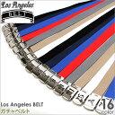 Los Angeles BELT ベルト メンズ (la-b14) [ベルト メンズ ベルト バックル ガチャベルト ガチャベルト バックル GIベルト プリント コットンベルト ベルト メンズ カジュアル]