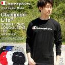 Champion チャンピオン tシャツ メンズ チャンピオン ロンt...