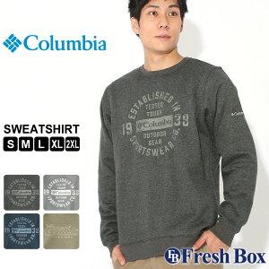 【送料無料】 Columbia コロンビア トレーナー メンズ ブランド 裏起毛 スウェット 大きいサイズ [Hart Mountain Graphic Sweatshirt] (USAモデル)
