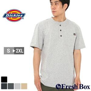 ディッキーズ Tシャツ 半袖 ヘンリーネック ヘビーウェイト ポケット メンズ 大きいサイズ WS451 USAモデル ブランド Dickies 半袖Tシャツ ポケT アメカジ