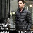 【送料無料】 EAGLE THE STANDARD ダウンジャケット メンズ 軽量 [日本規格] (eagle-40003) イーグル ライトダウンジャケット ダウン ダウンジャケット 軽量 ライトアウター ライトダウン 無地 黒 ブラック 防寒 撥水 軽い 大きいサイズ