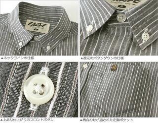 送料無料EAGLETHESTANDARDイーグルシャツブランド長袖シャツメンズストライプシャツ[日本規格](eagle-89026)ストライプシャツ長袖シャツメンズカジュアルシャツボタンダウンシャツワイシャツYシャツ大きいサイズコットンシャツメンズシャツ