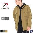 【送料無料】 ロスコ ROTHCO ロスコ M-65 ソフトシェルジャケット メンズ ミリタリージャケット [ROTHCO ロスコ ジャケット メンズ M-65 M65 大きいサイズ メンズ ミリタリージャケット シェルジャケット アウター ブルゾン ブラック 防寒 XL XXL LL 2L 3L] (USAモデル)