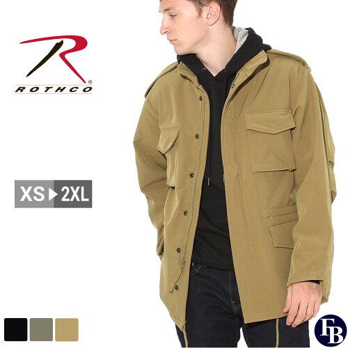 ロスコ ROTHCO ロスコ M-65 ソフトシェルジャケット メンズ ミリタリージャケット [R...
