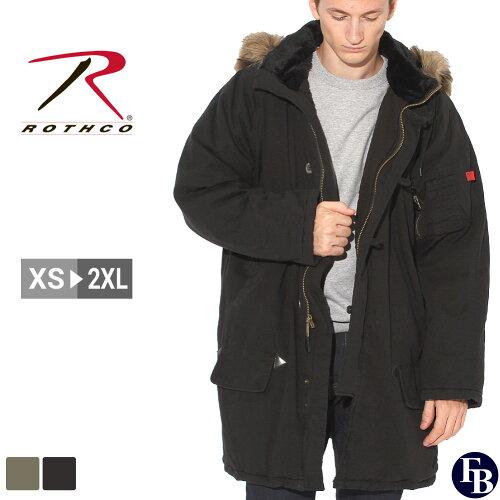 ロスコ ROTHCO ロスコ N3B ロング フライトジャケット 大きいサイズ メンズ 送料無料...