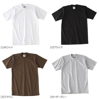 プロクラブ クルーネック ヘビーウェイト 半袖 Tシャツ 無地 メンズ|大きいサイズ USAモデル ブランド PRO CLUB|半袖Tシャツ HEAVY WEIGHT S M L LL・・・ 画像2