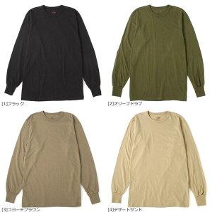 [ビッグサイズ] ロスコ Tシャツ 長袖 クルーネック 無地 メンズ 大きいサイズ USAモデル|ブランド ROTHCO|ロンT 長袖Tシャツ アメカジ ミリタリー