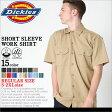 ディッキーズ Dickies ディッキーズ ワークシャツ 半袖 メンズ 1574 [Dickies ディッキーズ ワークシャツ メンズ 半袖ワークシャツ 半袖シャツ ディッキーズ 作業服 シャツ メンズ 大きいサイズ メンズ シャツ XL XXL LL 2L 3L] (USAモデル)