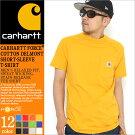 カーハートCarharttTシャツメンズ半袖大きいサイズ[carharttカーハートtシャツ半袖メンズ半袖tシャツtシャツポケット無地ブラック黒4L5L](USAモデル)(100410)