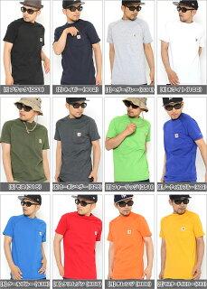 [2枚で送料無料]カーハートCarharttTシャツメンズ半袖アメカジ大きいサイズ[carharttカーハートtシャツ半袖メンズ大きい半袖tシャツアメカジストリートtシャツポケット無地ブラック黒XLXXLLL2L3L4L5L](USAモデル)(carhartt-100410)
