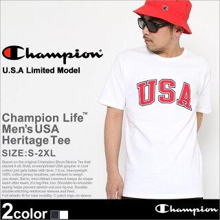 ChampionチャンピオンTシャツメンズ半袖ストリートビッグロゴ(t1919p-549393)(USAモデル)[チャンピオンChampionTシャツ半袖メンズ大きいサイズ半袖Tシャツチャンピオンビッグロゴヘビーウェイト厚手7.5オンスtシャツアメカジchampionusaXLXXL2XLLL2L]