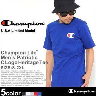 ChampionチャンピオンTシャツメンズ半袖ストリートビッグロゴ(t1919p-549500)(USAモデル)[チャンピオンChampionTシャツ半袖メンズ大きいサイズ半袖Tシャツチャンピオンビッグロゴヘビーウェイト厚手7.5オンスtシャツアメカジchampionusaXLXXL2XLLL2L]