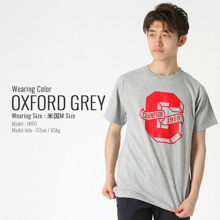 チャンピオン Champion チャンピオン Tシャツ メンズ 半袖 ストリート [チャンピオン Champion Tシャツ メンズ 大きいサイズ メンズ tシャツ アメカジ tシャツ 半袖tシャツ tシャツ ロゴ XL XXL LL 2L 3L] (USAモデル) (gt81-y06320)