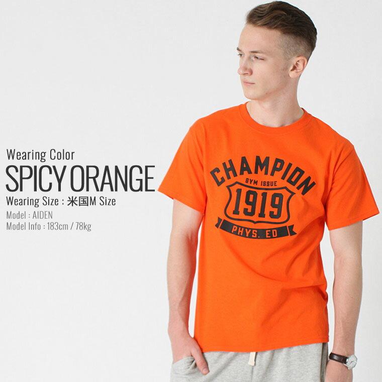 チャンピオン Champion チャンピオン Tシャツ メンズ 半袖 ストリート [チャンピオン Champion Tシャツ メンズ 大きいサイズ メンズ tシャツ アメカジ tシャツ 半袖tシャツ tシャツ ロゴ XL XXL LL 2L 3L] (USAモデル) (gt81-y06321)