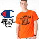 チャンピオンChampionチャンピオンTシャツメンズ半袖ストリート[チャンピオンChampionTシャツメンズ大きいサイズメンズtシャツアメカジtシャツ半袖tシャツtシャツロゴXLXXLLL2L3L](USAモデル)(gt81-y06321)