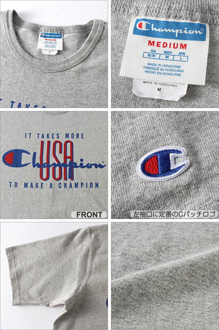 チャンピオン champion チャンピオン tシャツ メンズ 半袖 ストリート [gt19-y06327] │ Champion チャンピオン tシャツ メンズ 半袖tシャツ 大きいサイズ メンズ tシャツ アメカジ tシャツ tシャツ ロゴ Champion Life 小さいサイズ XS SS XL XXL LL 2L 3L │ (USAモデル)