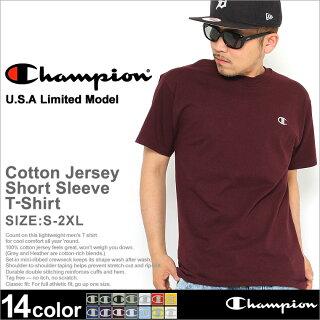 チャンピオンChampionチャンピオンtシャツメンズ半袖大きい無地[championチャンピオンtシャツメンズtシャツメンズtシャツ無地tシャツ半袖半袖tシャツ無地大きいサイズメンズtシャツアメカジtシャツchampiontシャツ](USAモデル)(t2226)