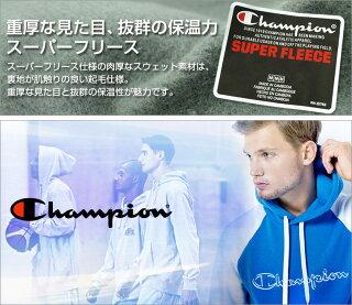 【送料無料】チャンピオンChampionリバースウィーブチャンピオンパーカービッグロゴスーパーフードUSAスウェットプルオーバー裏起毛大きいサイズメンズ