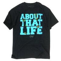 【CALV】【Tシャツ】CALVパームツリーロゴTシャツ